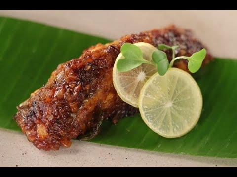 Fish Fry In Banana Leaf | Sanjeev Kapoor Khazana