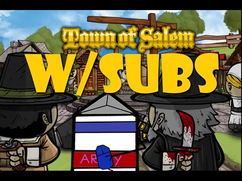 Town of Salem W/Subs | Super Long Game | Retributionist and Lookout Bros