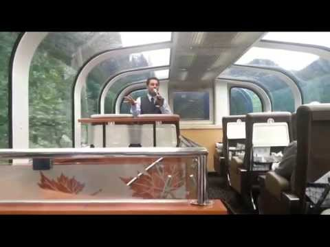 Rocky Mountaineer Train from Jasper, Kamloops to Vancouver. Video and stills slide show!