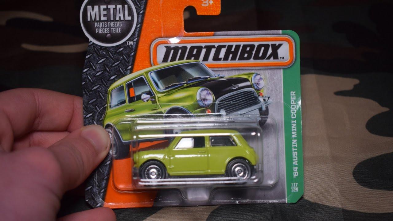 Unboxing 64 Austin Mini Cooper Matchbox Youtube