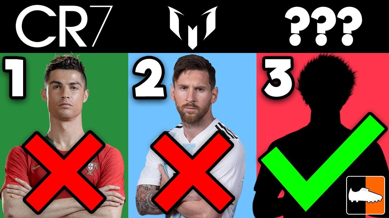 Which World Cup Footballer ARE YOU?! CR7, Messi, Neymar...