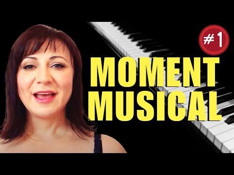 Schubert Moment Musical Op. 94 #3 Piano Tutorial - Part 1