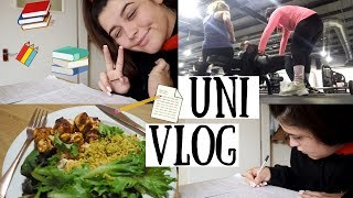 UNI VLOG | Productive Sundays - Catching Up & Leg Day :)