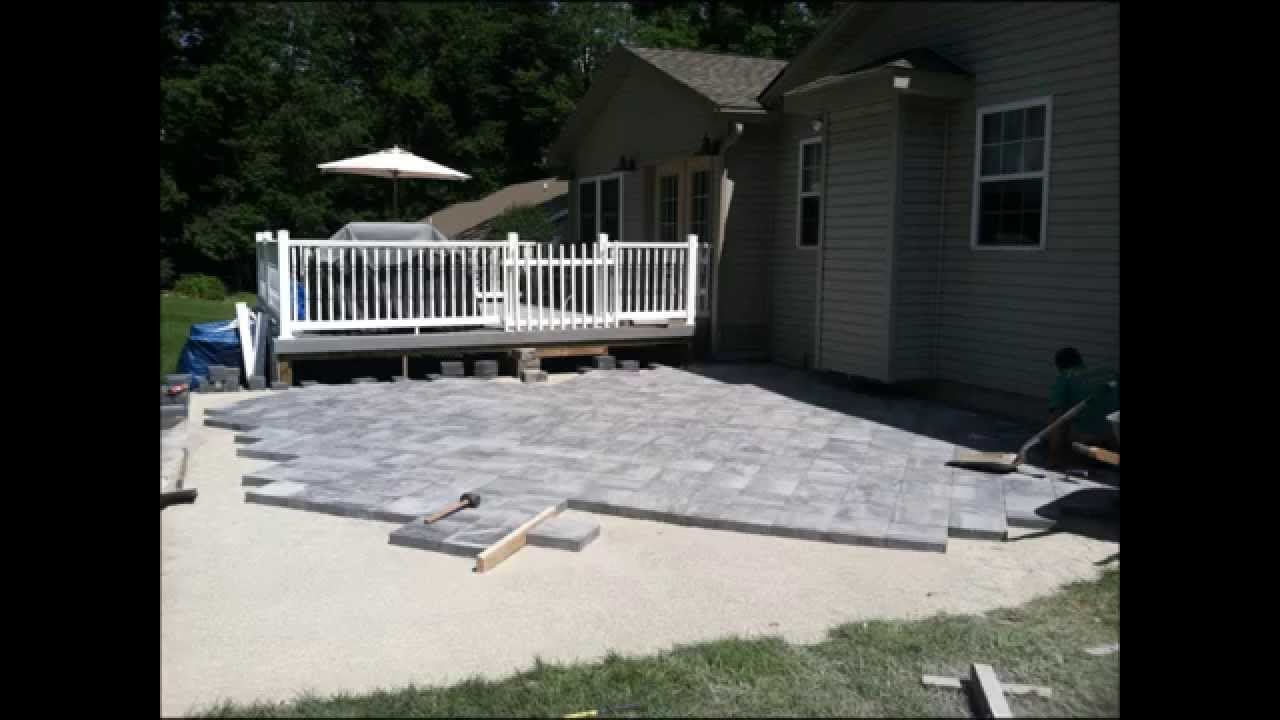 Nicolock Paver Patio Installation Hanover Pa 17331