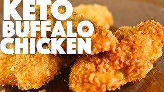 Keto Buffalo Chicken Recipe - keto diet meal prep recipes - ketogenic weight loss