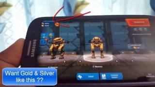 War robots hack Free Unlimited Gold & Silver For Android IOS