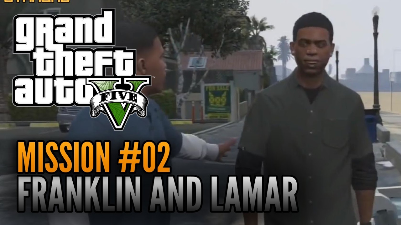 GTA-5 Mission#2 Franklin and Lamar - YouTube