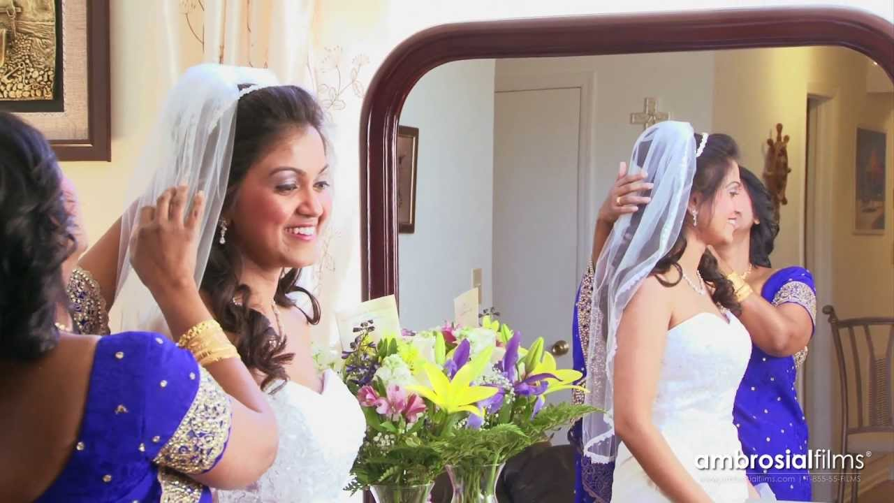 south indian & sri lankan christian wedding | ambrosial films