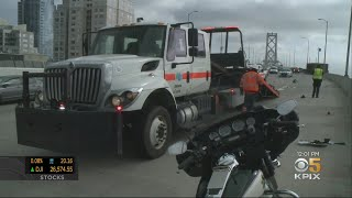 Motorcycle Rider Killed In Bay Bridge Crash During CHP Chase
