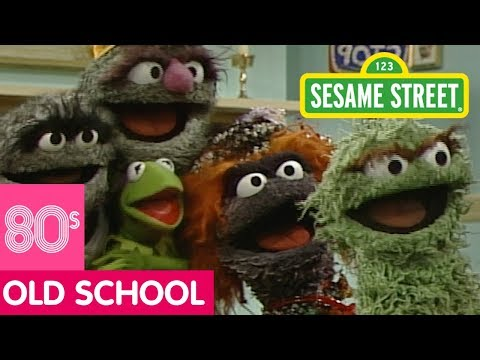 Sesame Street: Kermit's New Bus Stop with Oscar the Grouch | #Throwback Thursday