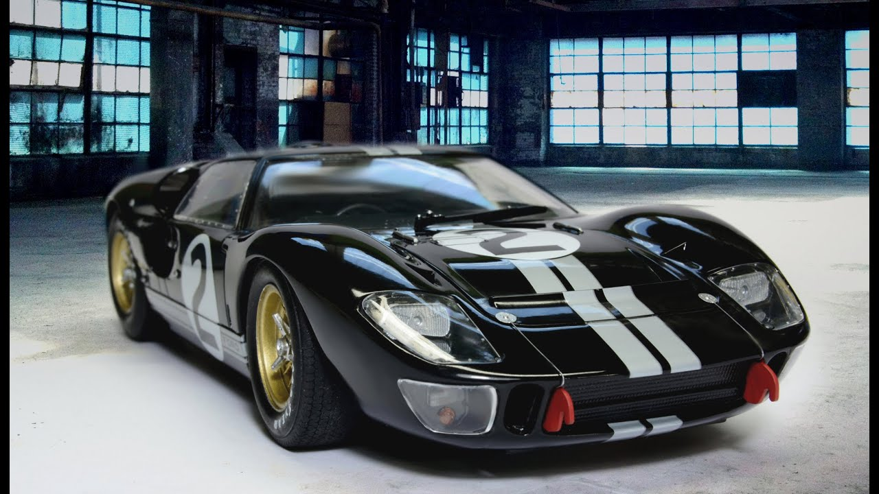 ford gt40 mkii fujimi 124 le mans 1966 car model youtube