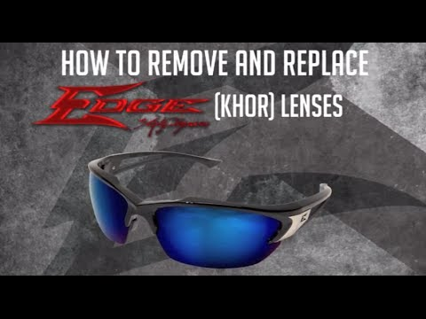 db8b89742324 Edge Eyewear Instructional  Replacing Khor Lenses - YouTube