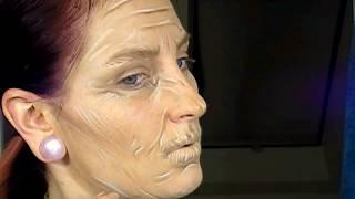 איפור אישה זקנה