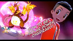 Where To Get Hidden Ability GIGANTAMAX SOLAR POWER CHARIZARD - Pokemon Sword and Shield