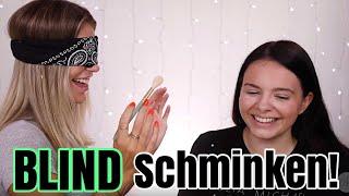 Ich schminke Ally BLIND! 😂 Oldschool Stuff | MRS. BELLA