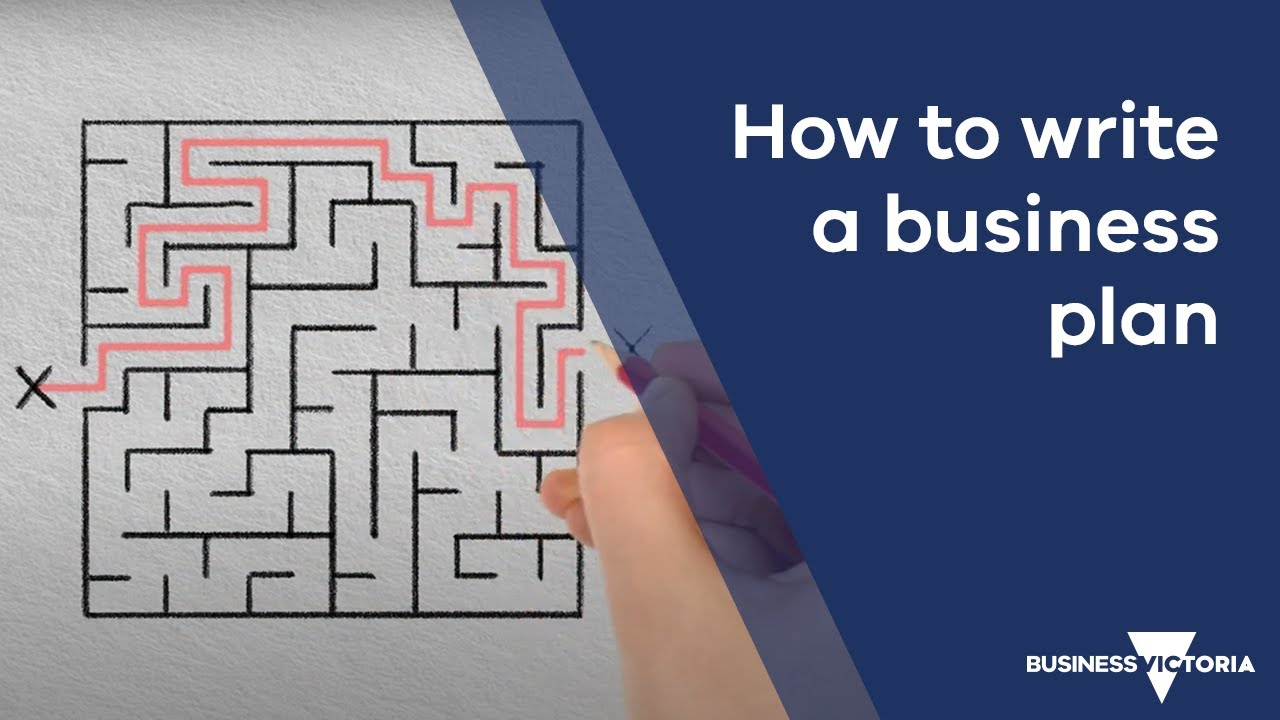 Business plan template small business victoria