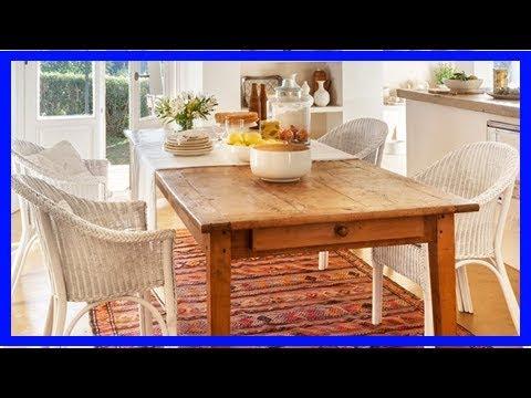 Mesas de comedor: tipos, tamaños y formas para elegir - YouTube