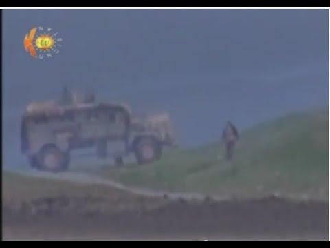 Kurdish Peshmerga Fighters Engaging ISIS in Mosul, Iraq