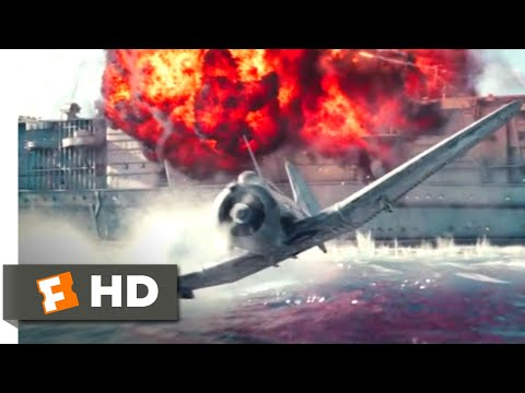 midway-(2019)---destroying-the-akagi-scene-(7/10)-|-movieclips