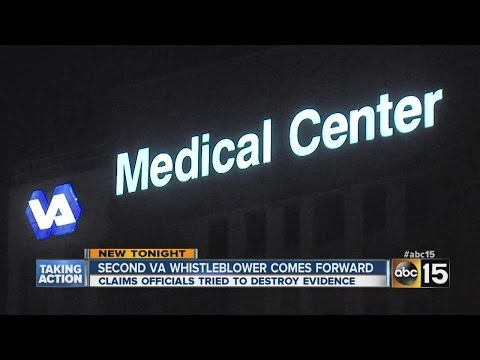 2nd whistleblower comes forward in VA scandal