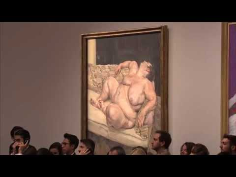 Auction Record Results: Lucian Freud's Benefits Supervisor Resting