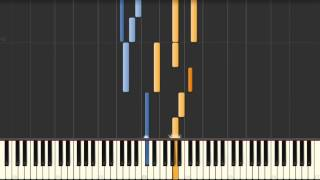 Goldberg Variation No. 10 (J.S. Bach) BWV 988 - Synthesia Piano Tutorial