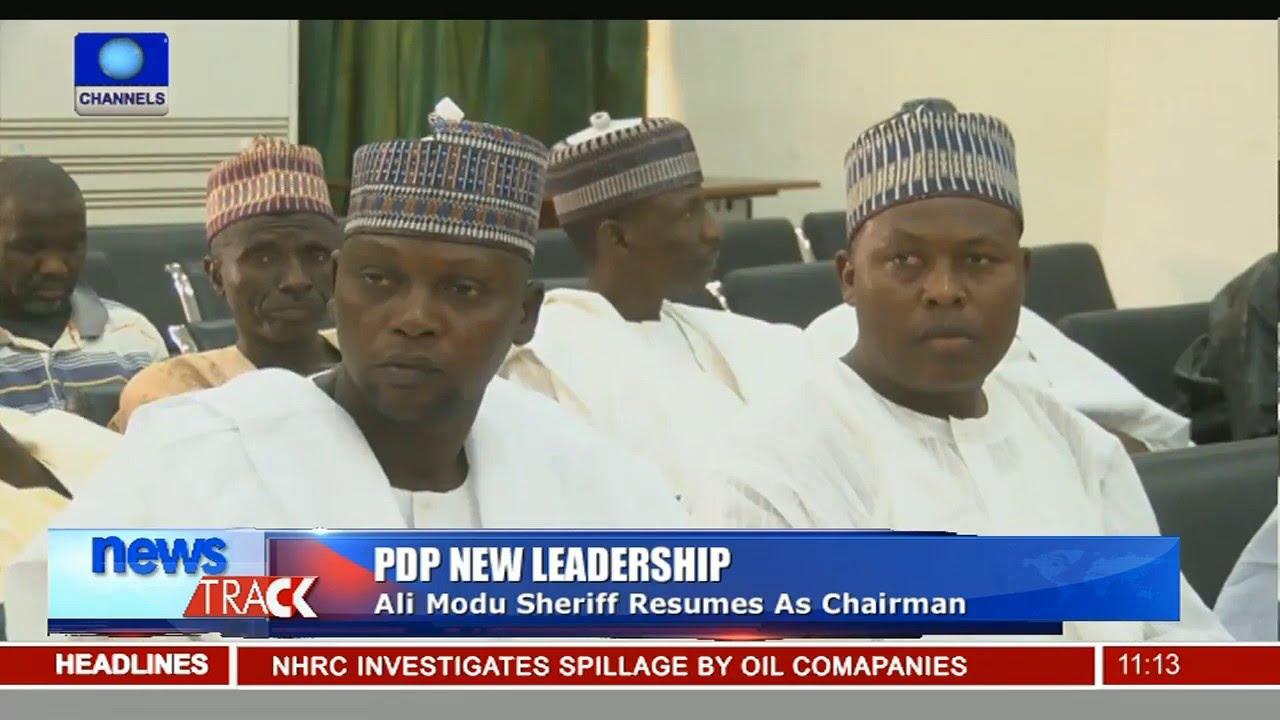 Alimodu Sheriff Resumes As PDP Chairman Despite Criticism 23/02/16 ...