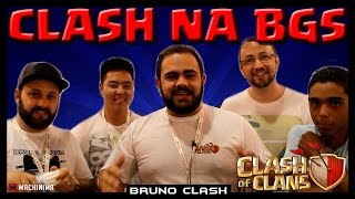 DESAFIO DE GIGANTES DO CLASH NA BGS - Clash of Clans - Bruno Clash