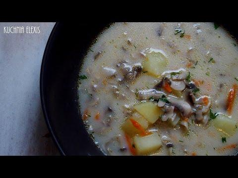 Zupa Pieczarkowa Youtube