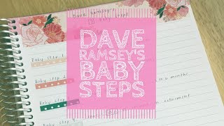 Dave Ramsey's Baby Steps | Total Money Makeover |
