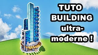 COMMENT FAIRE UN BUILDING DE LUXE SUR MINECRAFT ? TUTO !!