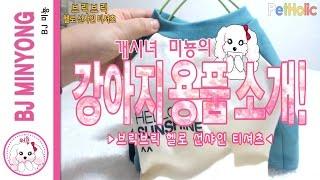 [강아지 의류] 브릭브릭 - 헬로 선샤인 레귤러 티 (…