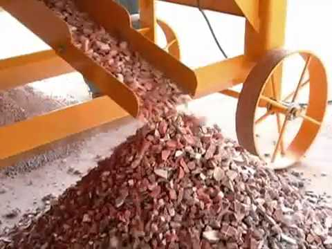 Recycling of construction debris - QUEIXADA - RECYCLING RUBBLE MOBILE