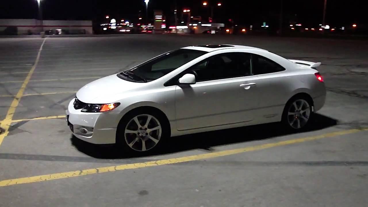 2009 Taffeta White Civic Si HFP - YouTube