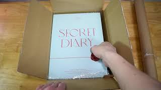 아이즈원 시크릿 다이어리 패키지 언박싱 IZ*ONE SECRET DIARY Package Unboxing
