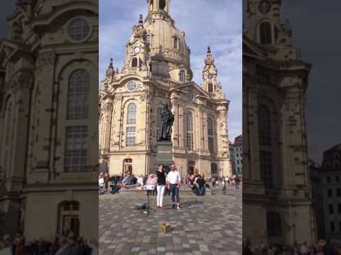 Opera singers in Dresden 2017