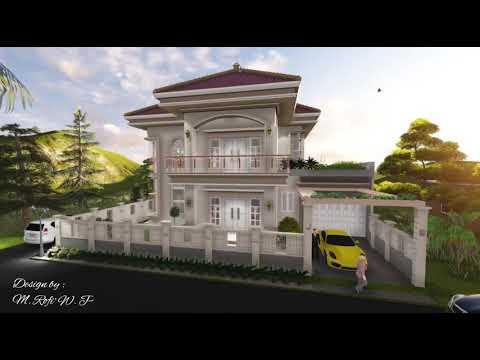 Klaten Design Mediterania Tropical House