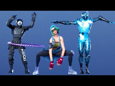 Fortnite All Dances Season 1-11