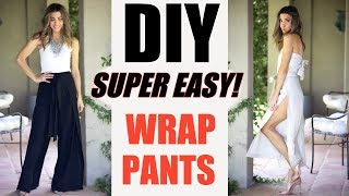 DIY: Super EASY Summer Wrap Pants! -By Orly Shani