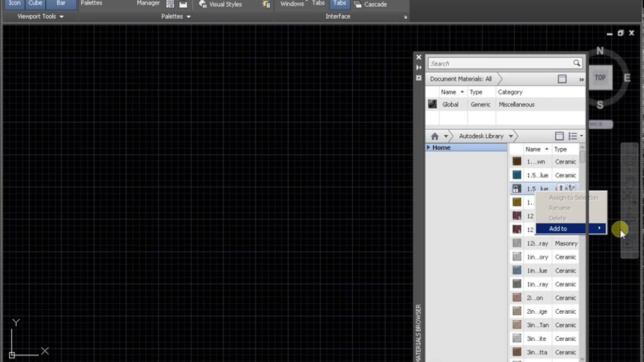 Material Library for AutoCAD