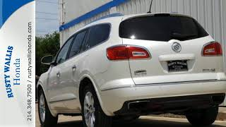 2014 Buick Enclave Dallas TX Fort Worth, TX #H8583 - SOLD
