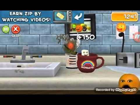 Annoying Orange Splatter Up 1 Youtube