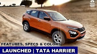 Launched | Tata Harrier Features Colors & Specifications Explained @tatamotors