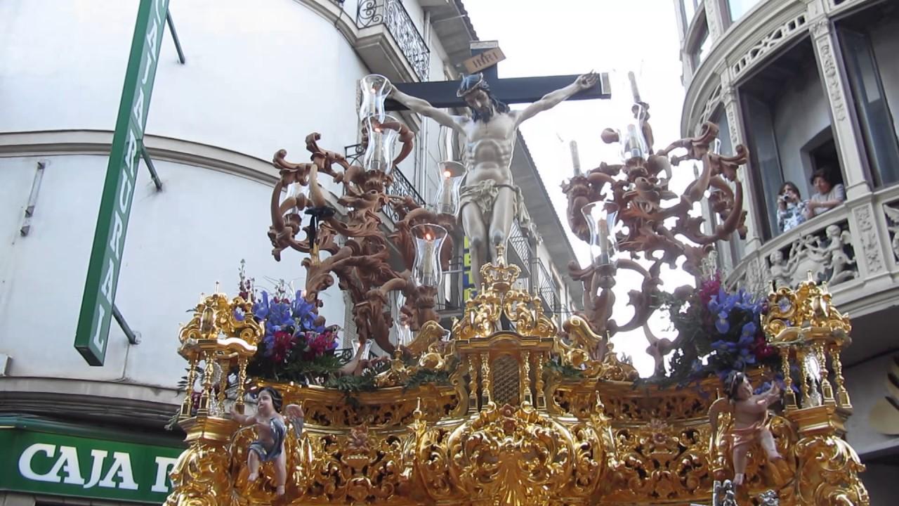 Viernes Santo Noche Alcala La Real Cristo De La Salud Entrando Al Llanillo 14 4 17 1
