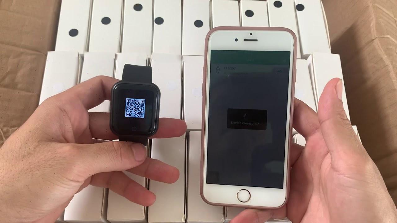 Hướng dẫn kết nối đồng hồ Y68 với điện thoại chi tiết
