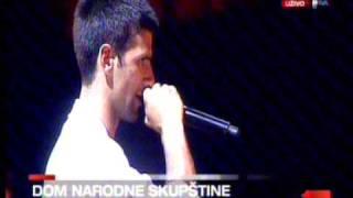 Novak Djokovic's celebration in Belgrade- final part