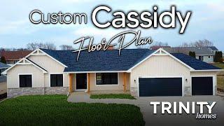 Custom Cassidy Floor Plan Home Tour - Trinity Home Builders