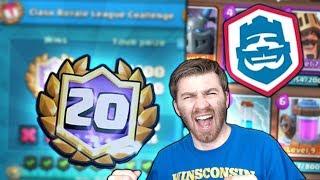 BEST 20 WIN CHALLENGE DECK!? 20 WIN CHALLENGE INTENSE GAMEPLAY! Clash Royale BEST 20 WIN DECK FINDER