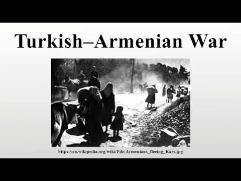 Turkish–Armenian War