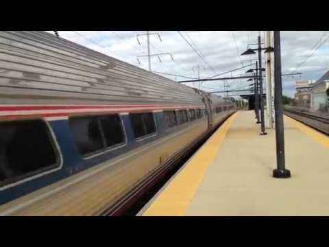 Amtrak AEM7AC 928 pulling Pennsylvanian train #42